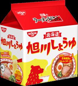 日清のラーメン屋さん 旭川しょうゆ 5食パック