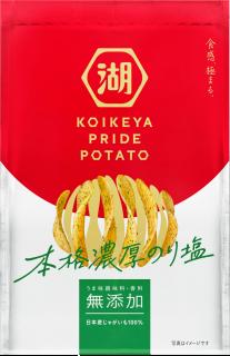 KOIKEYA PRIDE POTATO 本格濃厚のり塩