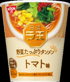 日清ラ王 野菜たっぷりタンメン トマト味