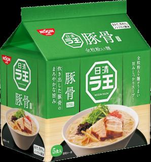 日清ラ王 豚骨 5食パック