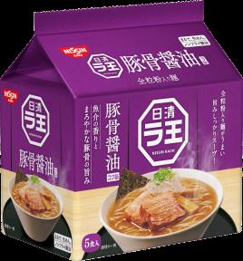 日清ラ王 豚骨醤油 5食パック