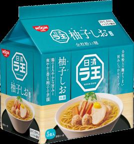 日清ラ王 柚子しお 5食パック