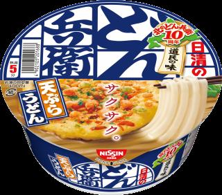 北のどん兵衛 天ぷらうどん [北海道] 1食