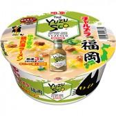 明星 チャルメラどんぶり 福岡ゆずすこ ゆず香る鶏白湯ラーメン