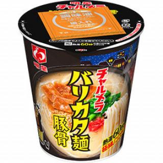 明星 チャルメラカップ バリカタ麺豚骨
